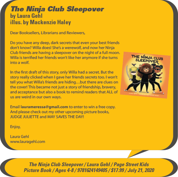 KidsBuzz: Page Street Kids: The Ninja Club Sleepover by Laura Gehl, illustrated by MacKenzie Haley