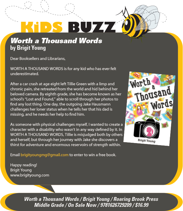 KidsBuzz: Roaring Brook Press: Worth a Thousand Words by Brigit Young