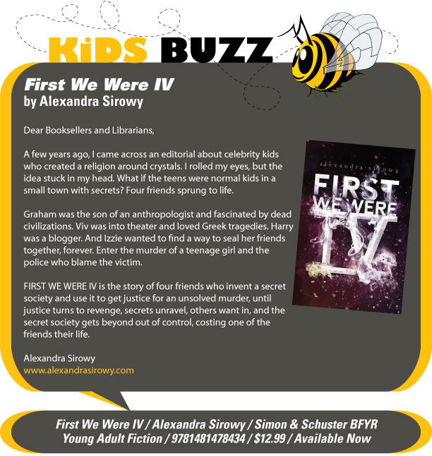KidsBuzz: Simon & Schuster Books for Young Readers: First We Were IV by Alexandra Sirowy