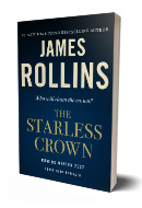 GLOW: Tor Books: The Starless Crown by James Rollins